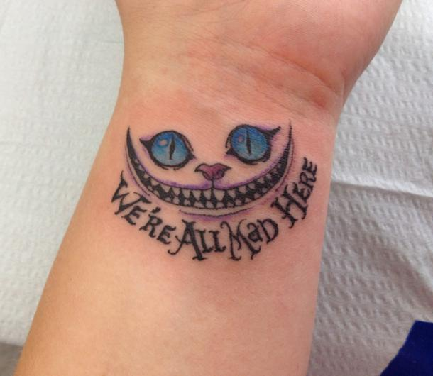 We're All Mad Here Tattoo Idea