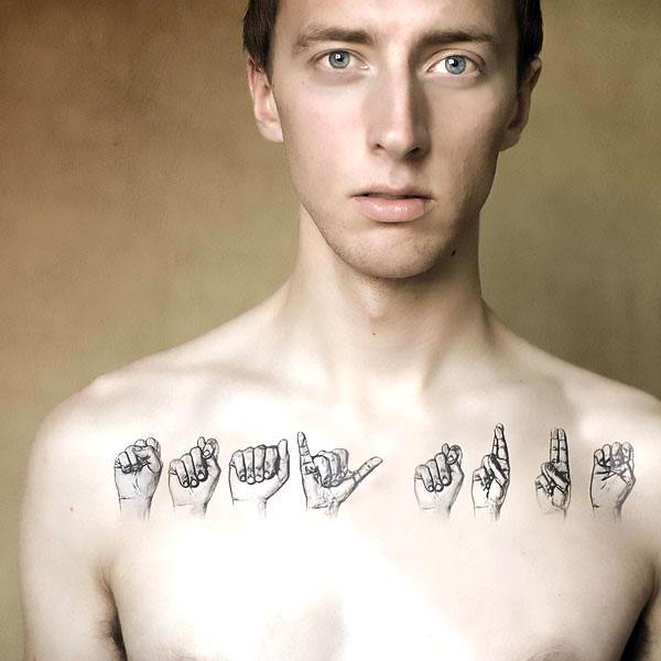 Collar Bone Tattoo for Guys Tattoo Idea