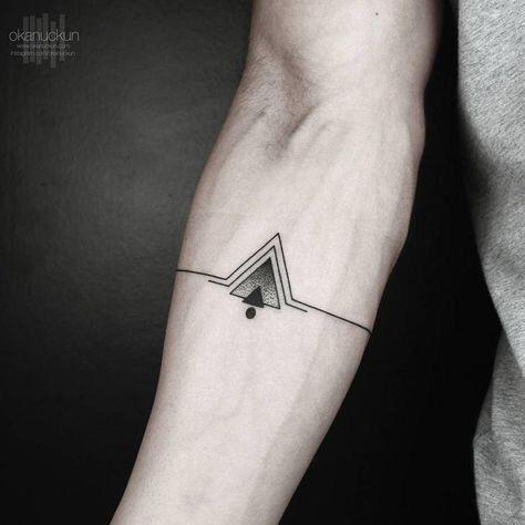 Deep Meaning Bracelet Tattoo Idea