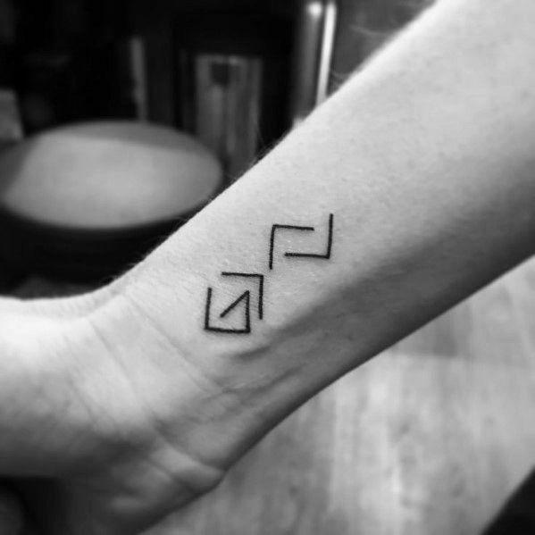 Unknown Characters Tattoo Idea