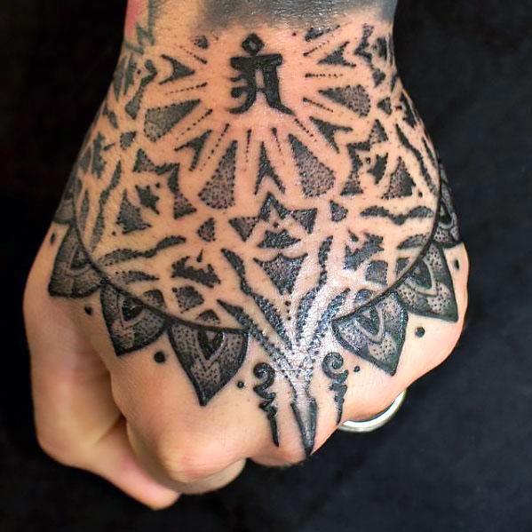 Cool Hand Tattoo Idea