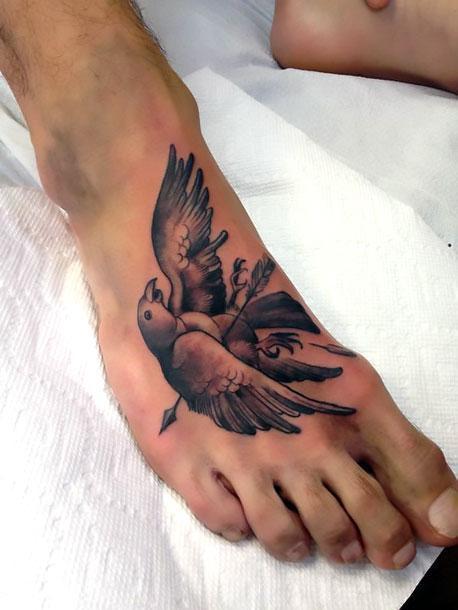 Dead Mockingbird Tattoo Idea