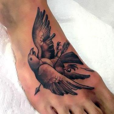 Dead Mockingbird Tattoo