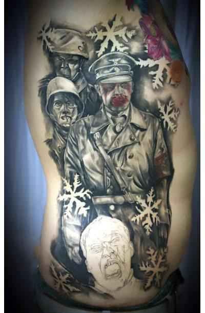 Dead Snow Movie Tattoo Idea