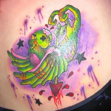 Dead Swallow Tattoo