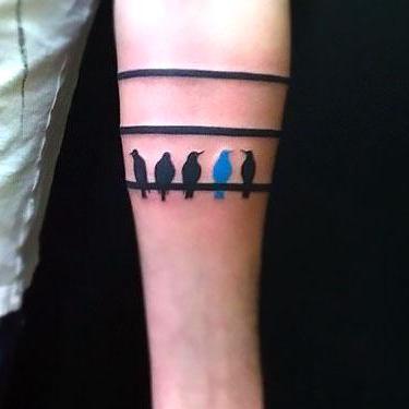 The Different Bird Tattoo