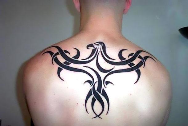 Tribal Raven Tattoo Idea