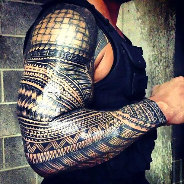 Tribal Sleeve Tattoo Idea