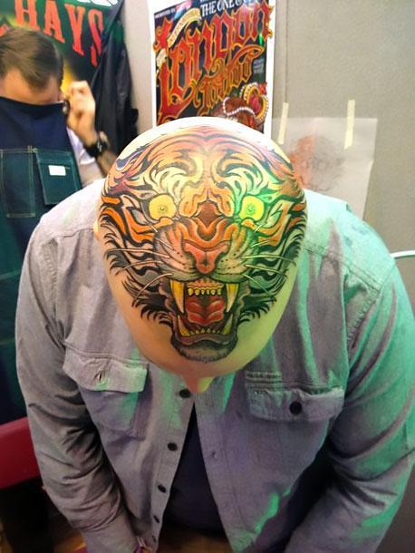 Triger Head Tattoo Idea