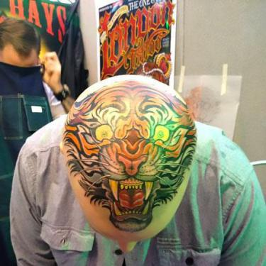 Triger Head Tattoo