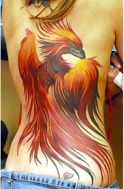 Amazing Phoenix Tattoo Idea