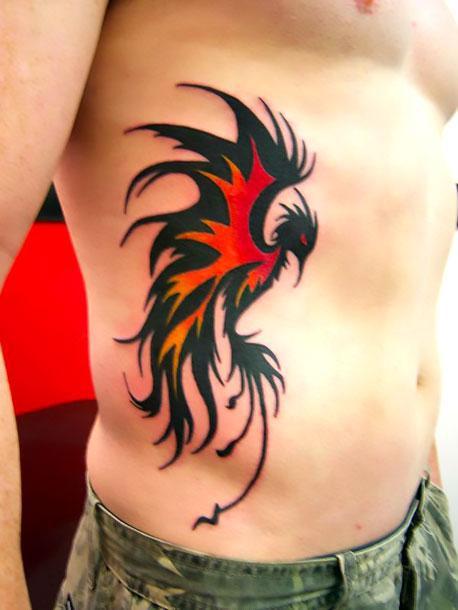 Amazing Phoenix Tattoo Tattoo Idea