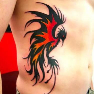 Amazing Phoenix Tattoo Tattoo