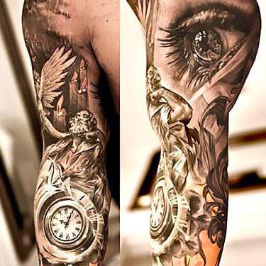 Amazing Sleeve For Men Tattoo
