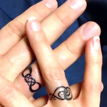 Wedding Rings Tattoo
