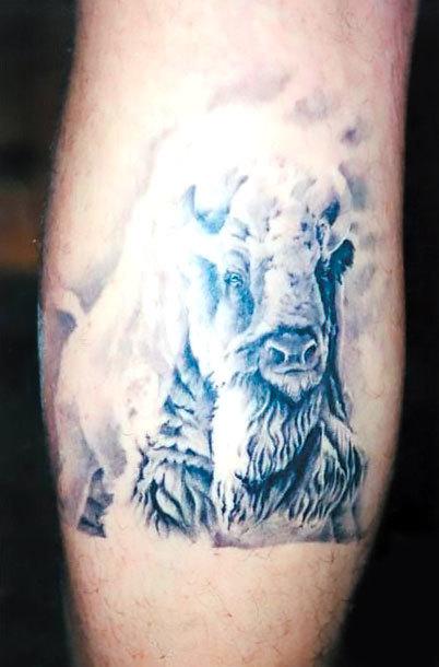 White Buffalo Tattoo Idea