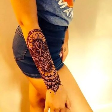 Girly Forearm Tattoo