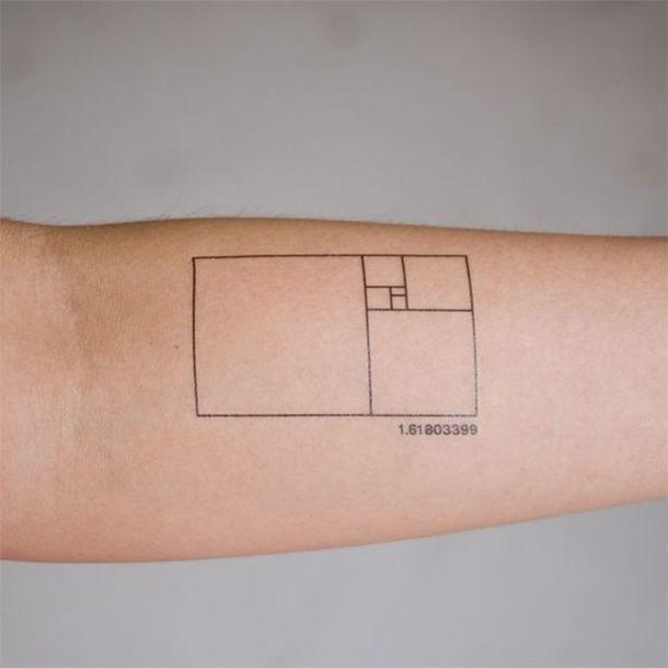 Golden Ratio Tattoo Idea