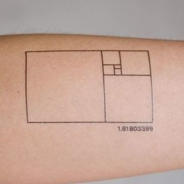 Golden Ratio Tattoo