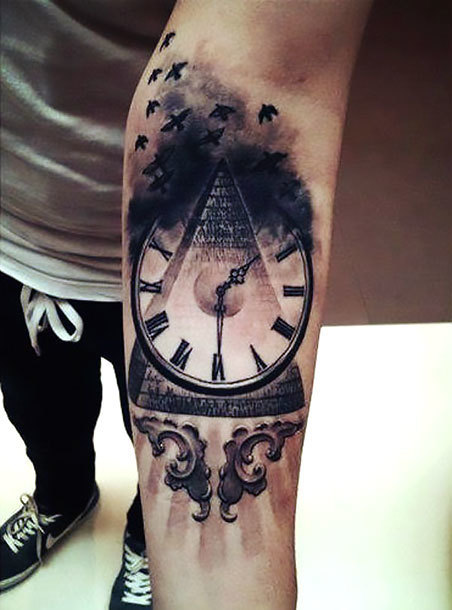 Good Arm Tattoo Idea
