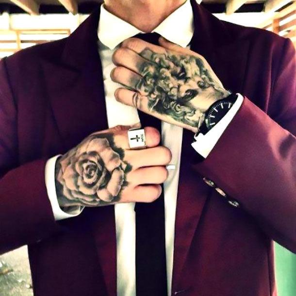 Hand Men Tattoo Idea