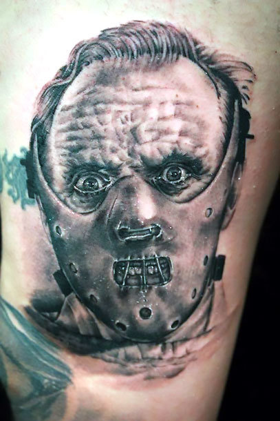 Hannibal Lecter Tattoo Idea