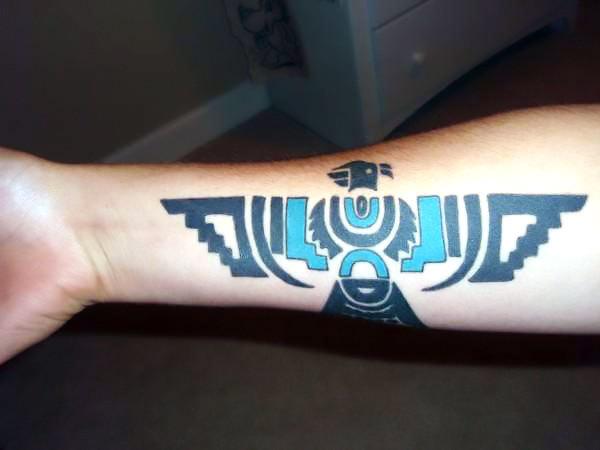 Indian Thunderbird Tattoo Idea