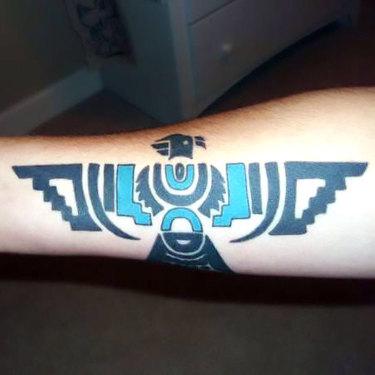 Indian Thunderbird Tattoo