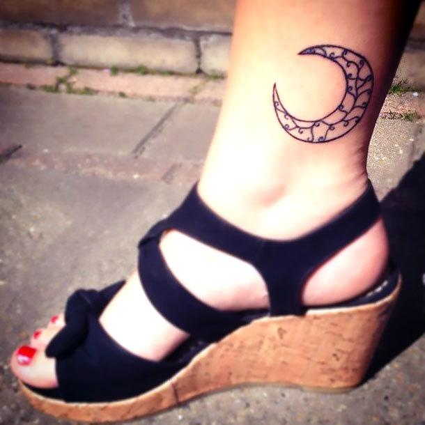 Inner Ankle Tattoo Idea