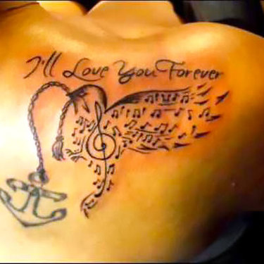 Love forever Songbird Tattoo