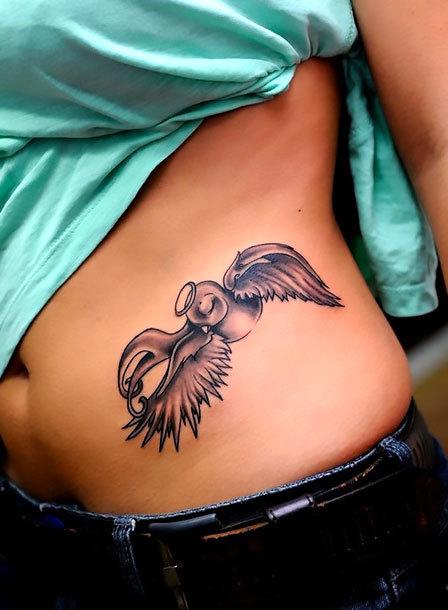 Lovely Swallow Tattoo Idea