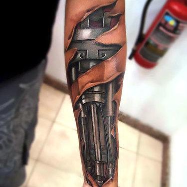 Male Forearm Tattoo