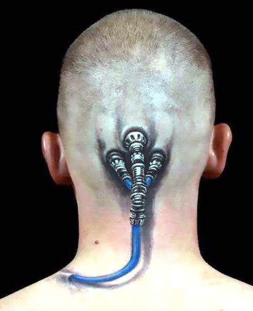 Matrix Cable Tattoo Idea