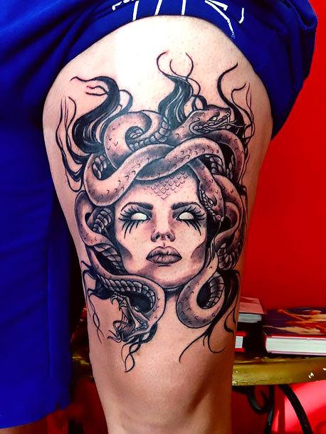 Medusa Tattoo Idea