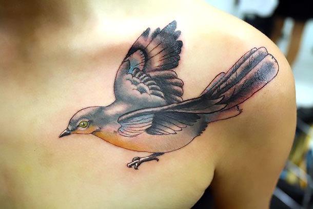 Mockingbird Tattoo Idea