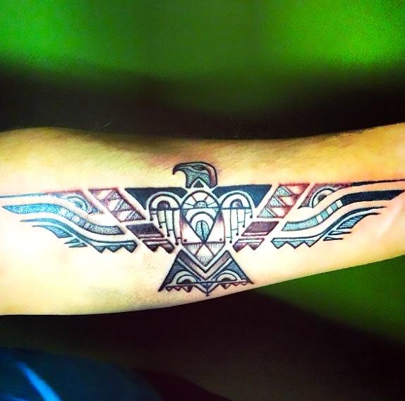 Native American Thunderbird Tattoo Idea