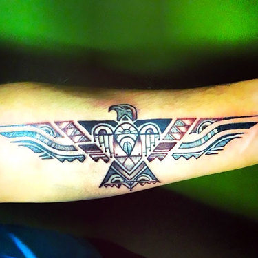 Native American Thunderbird Tattoo