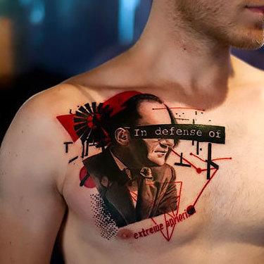 Extreme Apriori Trash Polka Tattoo