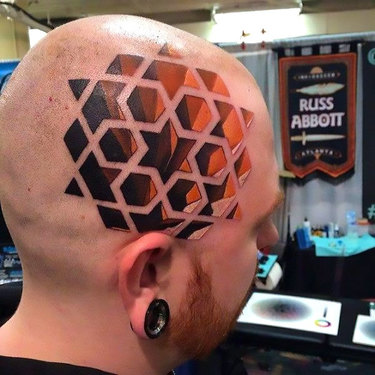 Stunning Geometric Tattoo