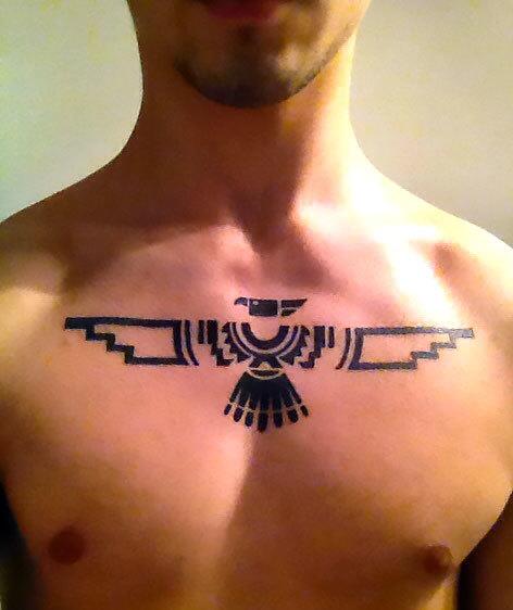 Thunderbird for Men Tattoo Idea