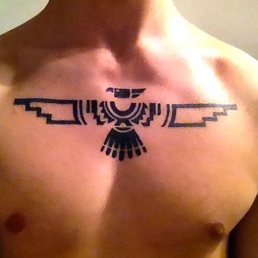 Thunderbird for Men Tattoo