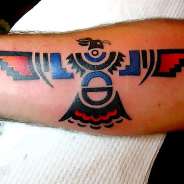 Thunderbird on Forearm Tattoo