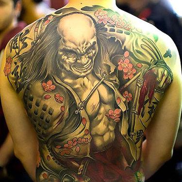 Oriental Bad Guy Tattoo