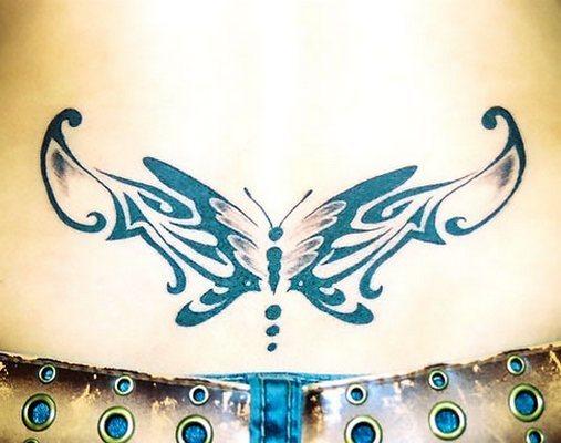 Tramp Stamp for Women Tattoo Idea