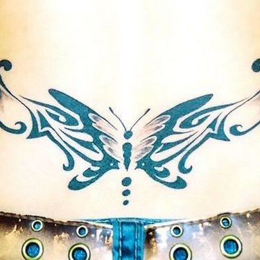 Tramp Stamp for Women Tattoo