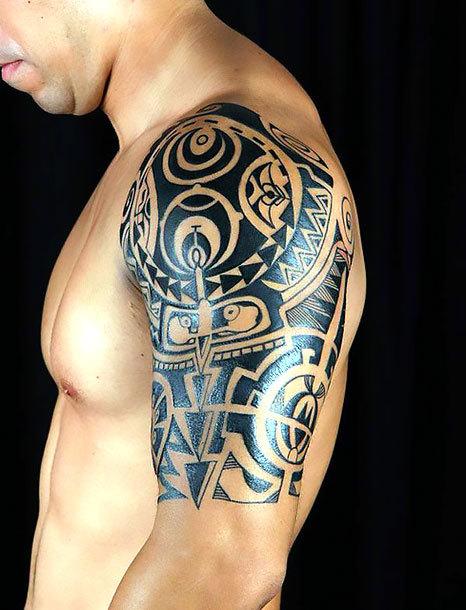 Tribal Men Tattoo Idea