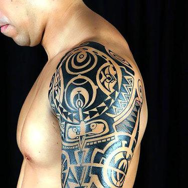 Tribal Men Tattoo