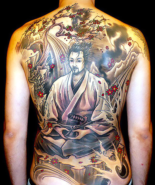 Oriental Samurai Tattoo Idea