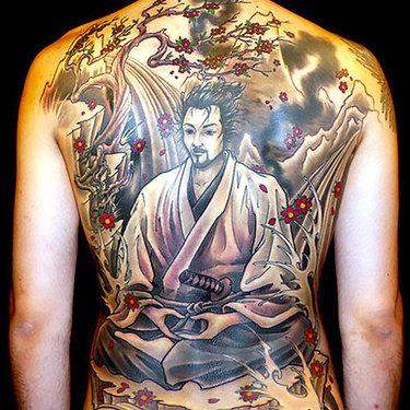 Oriental Samurai Tattoo