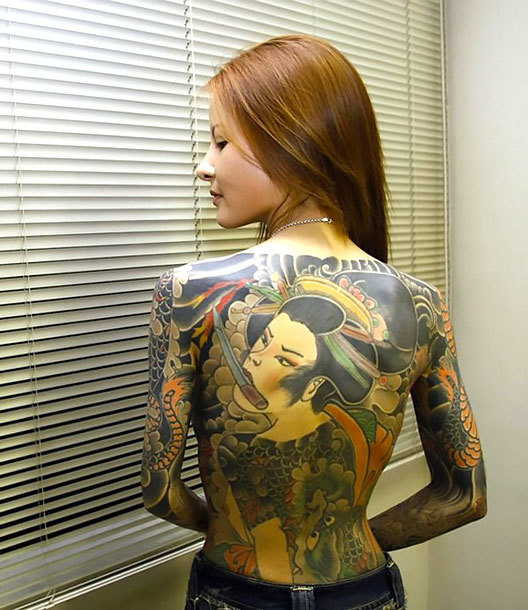 Oriental Tattoo for Women Tattoo Idea